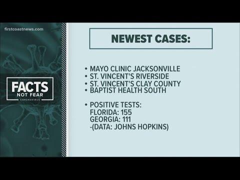 Monday Update: Latest cases of coronavirus on the First Coast ...