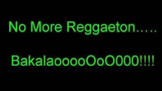 No More Reggaeton