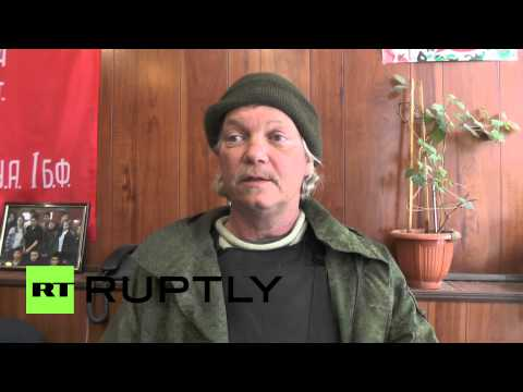Ukraine: 'I came