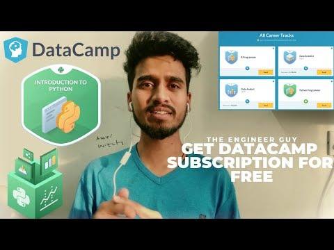 How To Get DataCamp Subscription For Free | DataCamp Premium Access