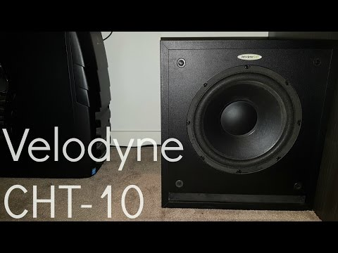 ANOTHER FREE SUBWOOFER?! - VELODYNE CHT-10!