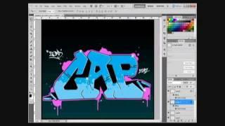 Digital Graffiti Tutorial - Photoshop
