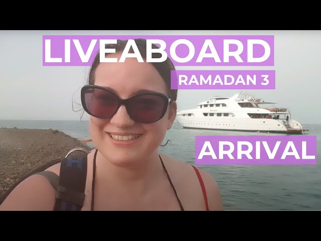 Arrival at Red Sea Liveaboard - Ramadan 3