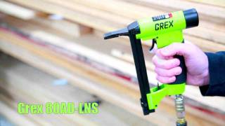 "Grex 80ADLNS - 21 Ga. 1/2"" Crown Long Nose Stapler"