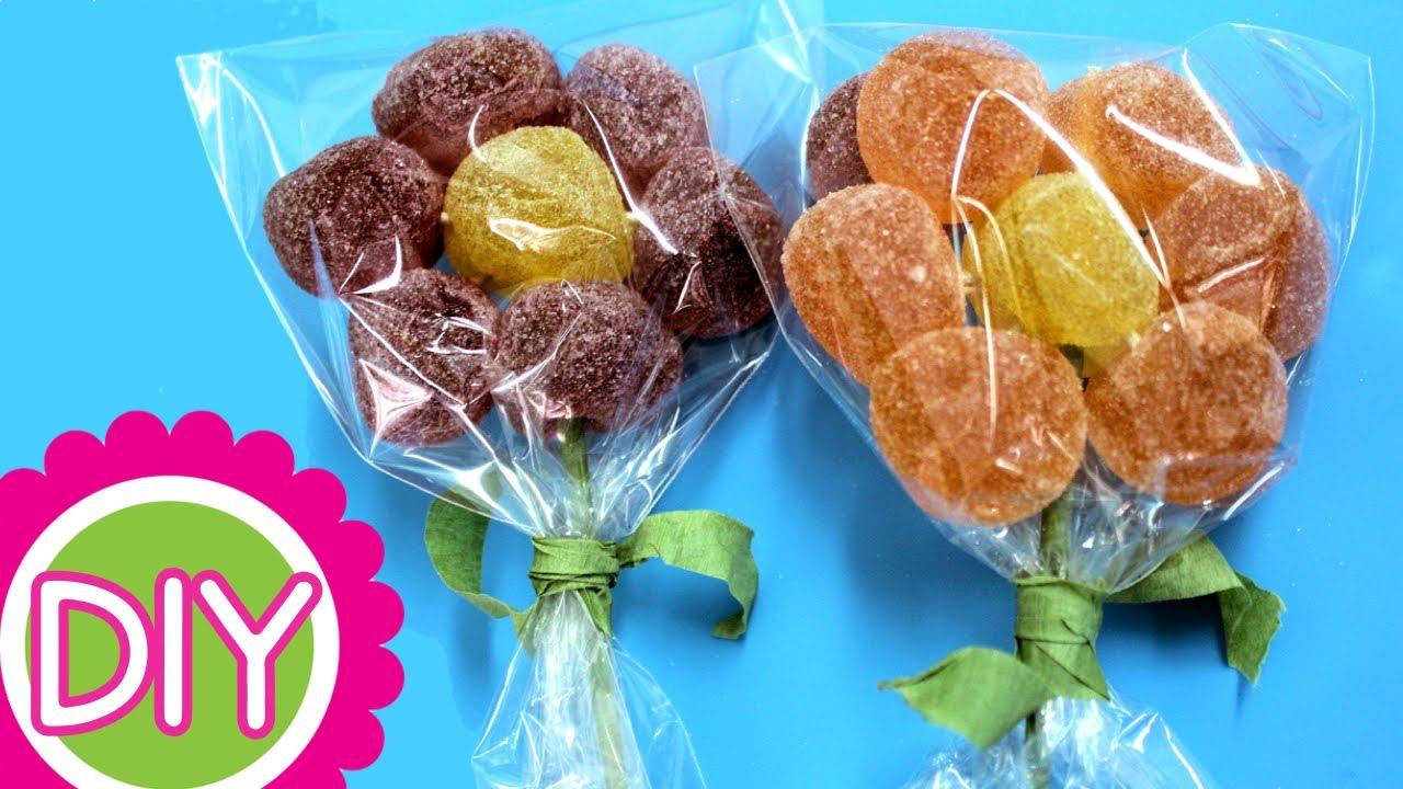 Delightful Flores De Gominolas O Gomitas. Ideas Con Chuches. Recetas Para Fiestas