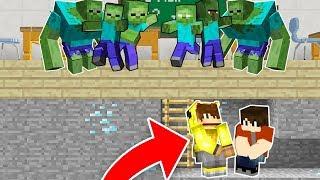 OKULDA MUTANT ZOMBİ KIYAMETİ! 😱 - Minecraft