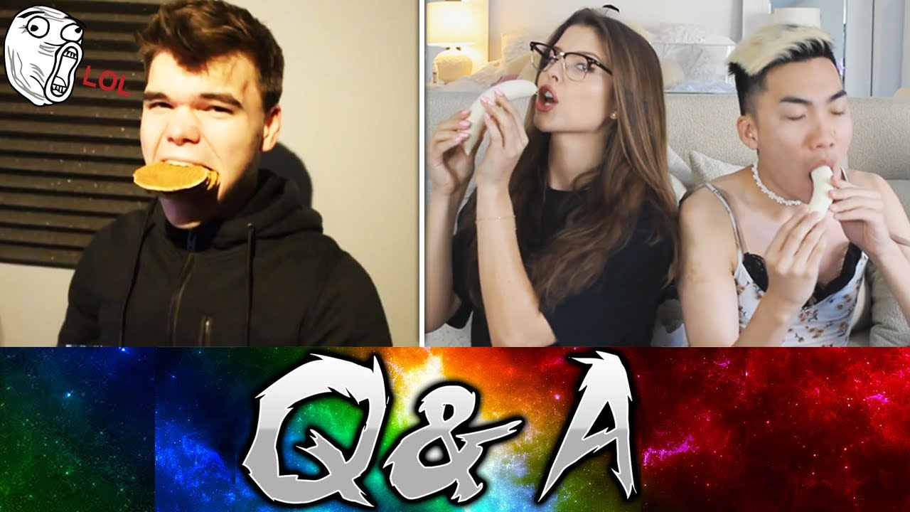 Funniest Q&A Moments Of YouTube Compilation!!
