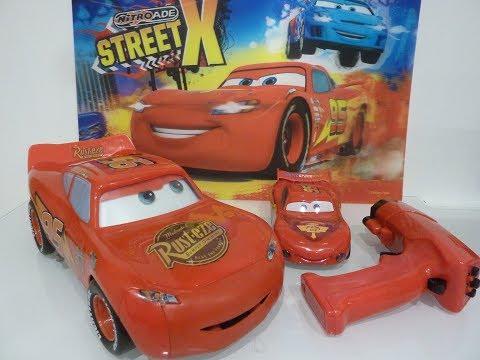 Cars Flash McQueen Touch N Go Interactive R/C Vehicle et Flash McQueen Télécomandé Infrarouge