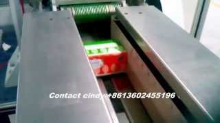 Full automatic napkin,tissue paper flow wrapping machine