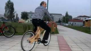 Wooden Bicycle project