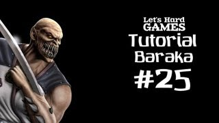 Mortal Kombat 9: Komplete Edition #25 Обучение Baraka [Tutorial][Fatality][PC]