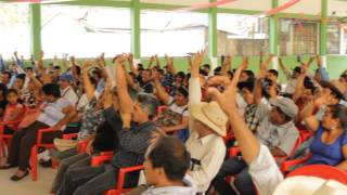 Solidaridad con los presos políticos de Santa Eulalia, Huehuetenango