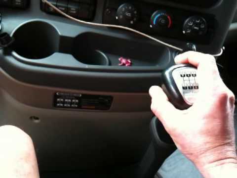 How to shift a 10 speed tractor trailer
