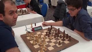 GM Rauf Mamedov - Maxime Lagarde, French defense, Blitz chess