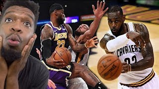 LEBRON JAMES BEST PASSES OF HIS CAREER!!