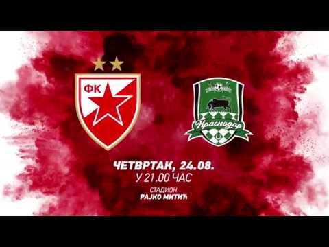 Zvezda - Krasnodar, najava - Govor majora Gavrilovića