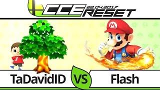 CCE RESET Pools - TCL TaDavidID (Villager) vs Flash (Mario) - Smash 4