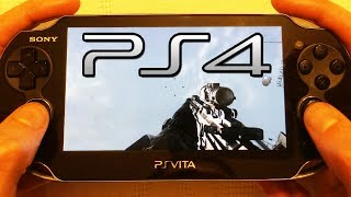 PS4 REMOTE PLAY - Call of Duty: GHOSTS PS Vita Gameplay 1080p - (COD Ghost Playstation 4)