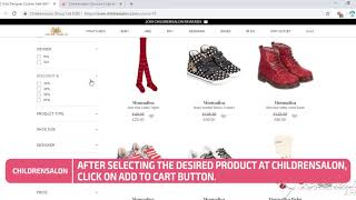 How to Use Childrensalon Discount Code
