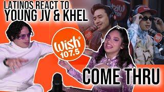 "Download Latinos react to Young JV ft. Khel Pangilinan performs ""Come Thru"" LIVE on Wish  REACTION 😎🔥"