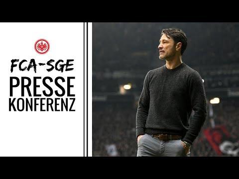 Duell der Überraschungsteams?! | PK vor FC Augsburg | Eintracht Frankfurt