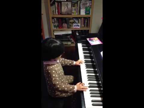 4 year old piano gifted