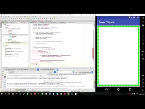 How To Make A Snake Game For Android  - Part 2
