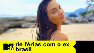 Stefani, ex do Carlos, chega chegando e anima os meninos | De Férias com o ex Brasil Ep. 03