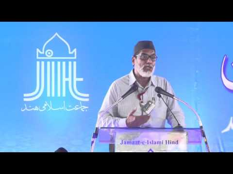 Dr.Javeed Mukarram Sahab All India Ijtema arkaan Jamaat-e-Islami Hind hydarbad telangana 2015