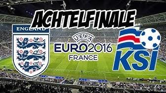 England - Island | EM 2016 Achtelfinale | Prognose