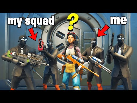Fortnite Squads Except We Protect JULES
