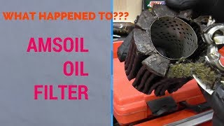 13 Months on Amsoil oil filter