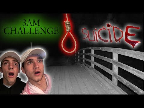 Thumbnail: 3AM CHALLENGE AT SUICIDE BRIDGE GONE TERRIBLY WRONG // HE GOT POSSESSED!