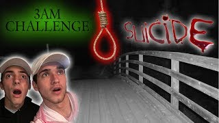 3AM CHALLENGE AT SUICIDE BRIDGE GONE TERRIBLY WRONG // HE GOT POSSESSED!