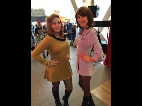 How to Make an Original Series Star Trek Uniform Cosplay!