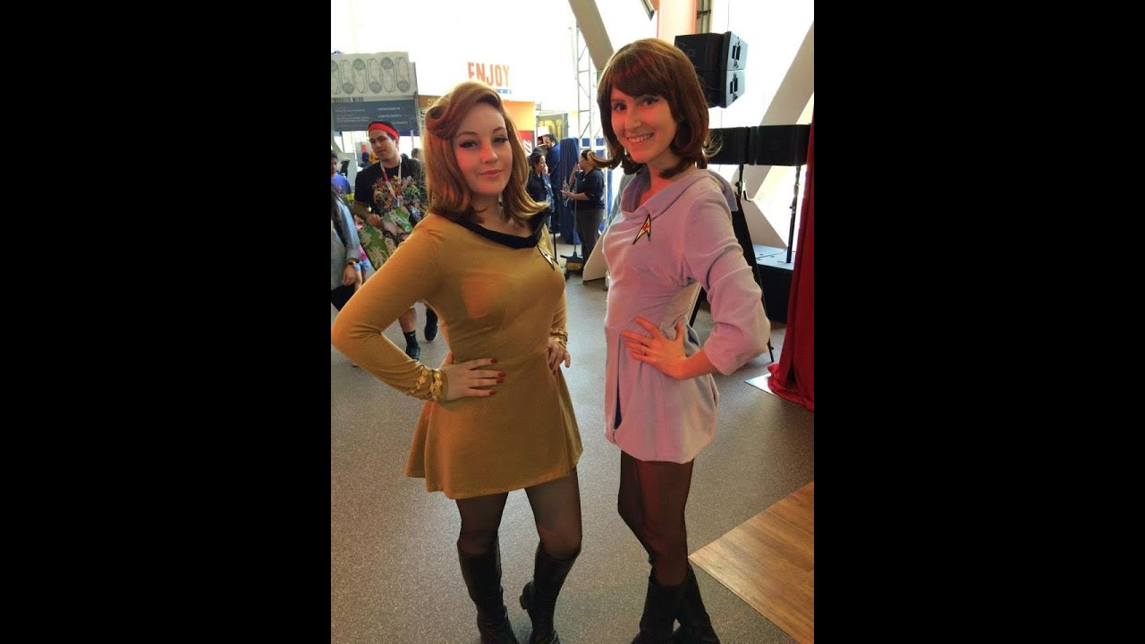 How To Make An Original Series Star Trek Uniform Cosplay Youtube