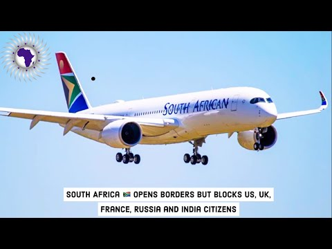 South Africa Opens Borders To All African Countries & Bans US Citizens