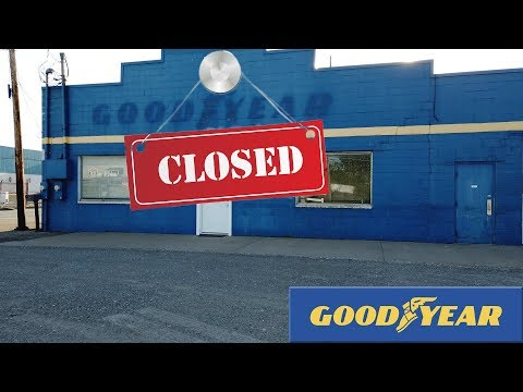 CLOSED And Left Behind - Goodyear Tire & Service Center | Perry Township