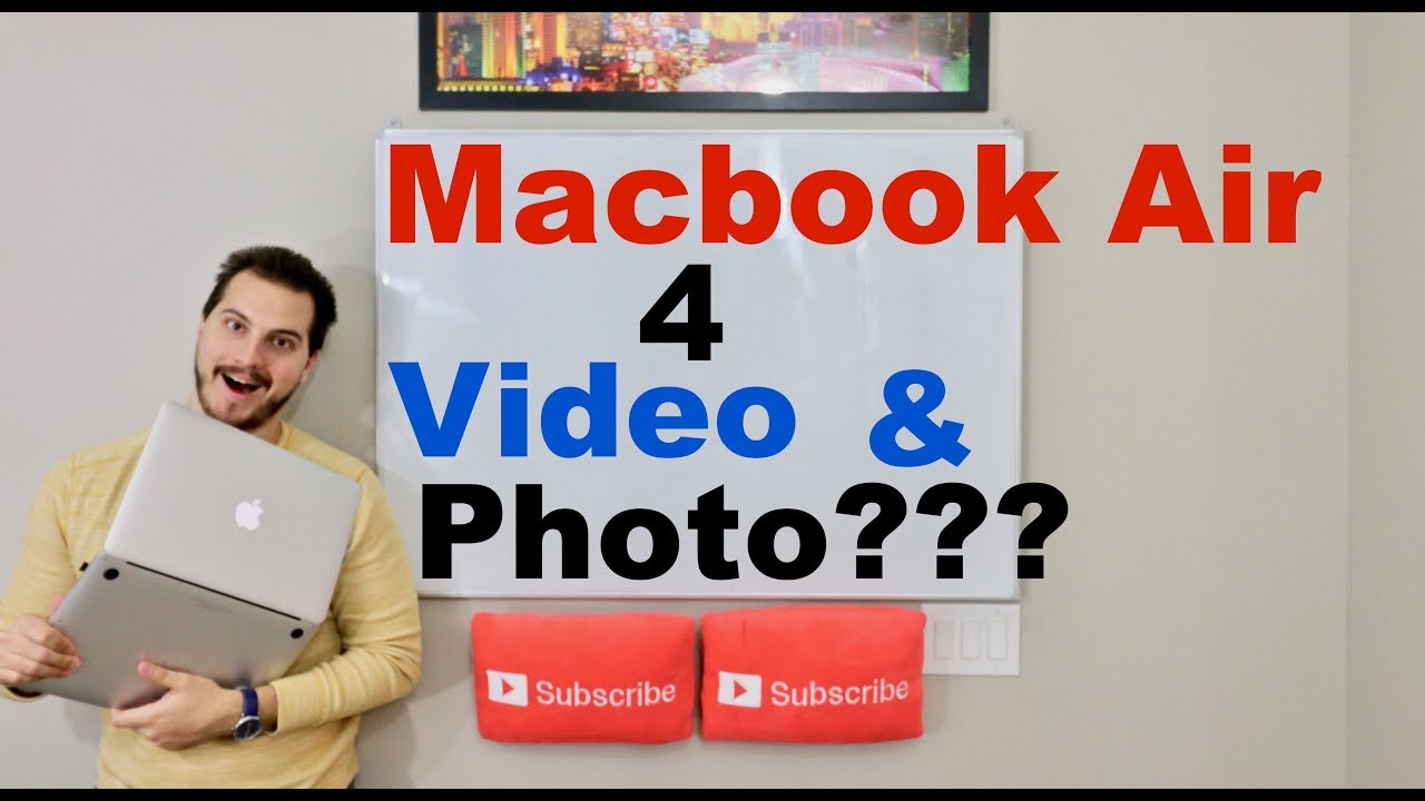 macbook air 2017 for photography