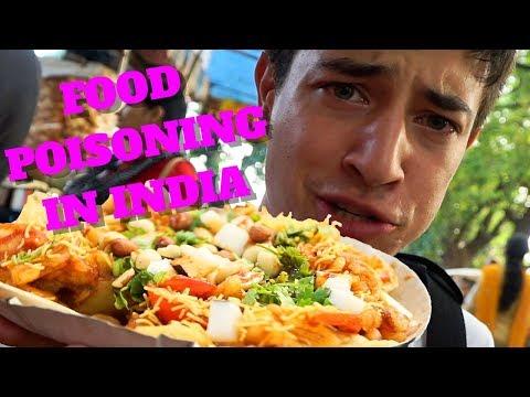 How I Got Sick Eating Street Food in India | Kolkata, India