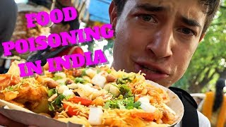 How I Got Sick Eating Street Food in India | Kolkata, India