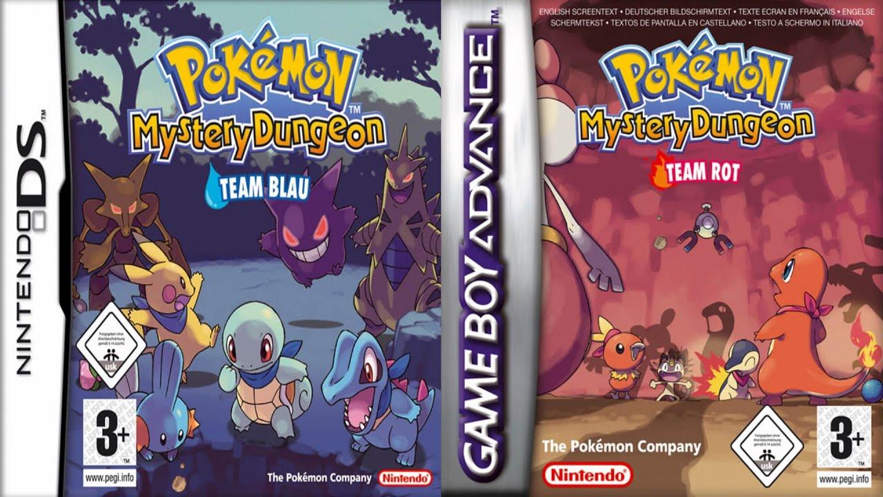 pokemon mystery dungeon team blau