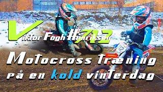 Vintertræning på Ballerup Skovlunde motocross bane - Viktor Fogh Henriksen #712