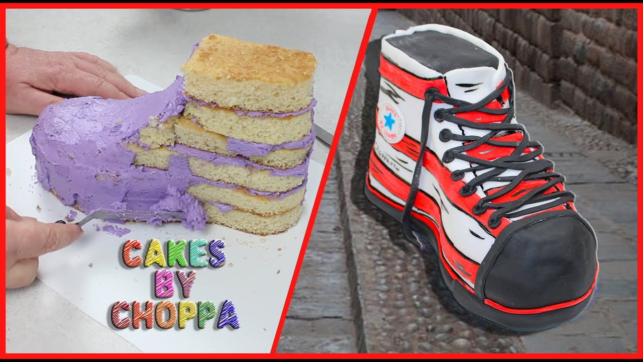 Converse Allstar shoe Cake Dr Seuss Inspired How To YouTube