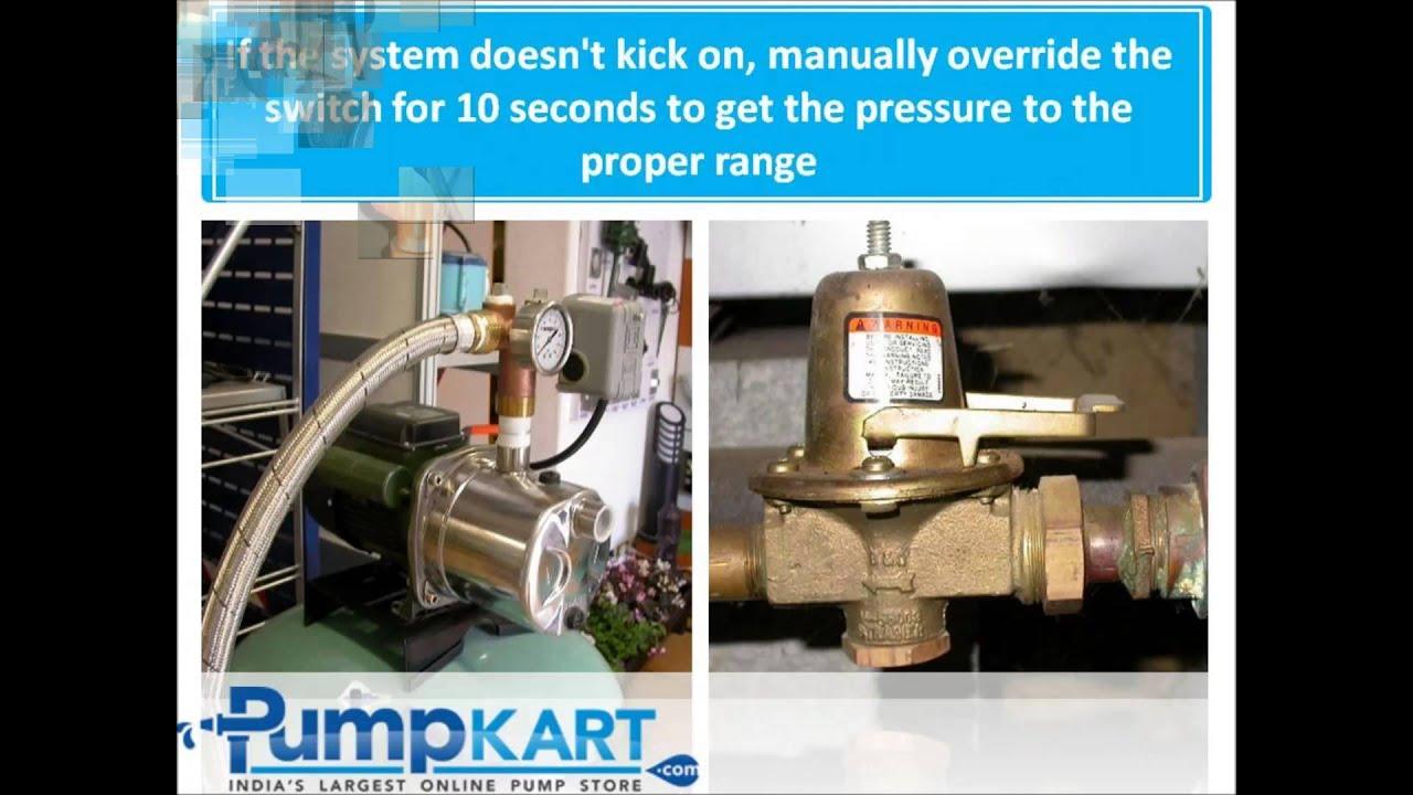 how to install booster pump booster pump installation pumpkart com [ 1280 x 720 Pixel ]
