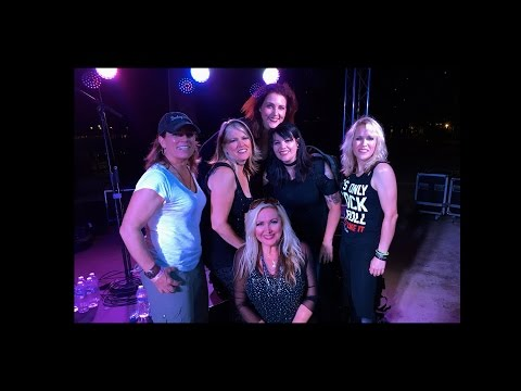 Cougrzz Rock Live at Catalina Island Women's Weekend filmed by Stacy Poulos