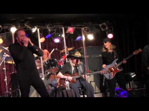 Johnny Winter with Debbie Davies NYC 2-23-14