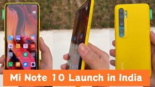 Xiaomi Mi Note 10/ Mi CC9 Pro Launch Date in India Confirm?