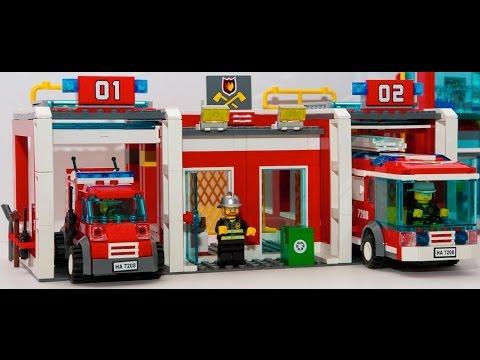 Worksheet. LEGO City Estacin De Bomberos Juguetes Para Nios  YouTube