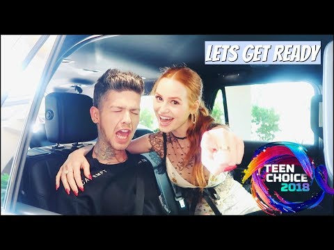 Let's Get Ready: Teen Choice Awards | Madelaine Petsch thumbnail